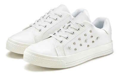 LASCANA Sneaker mit Perlen