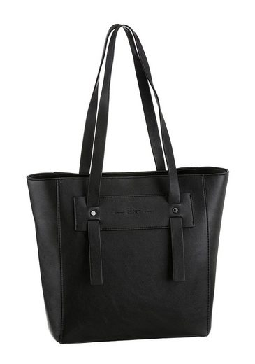 Esprit Schultertasche »Terry Shopper«, in schlichter Optik