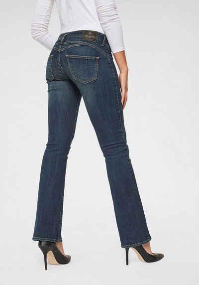 Herrlicher Bootcut Jeans »GINA BOOT« Superstretch Low Waist