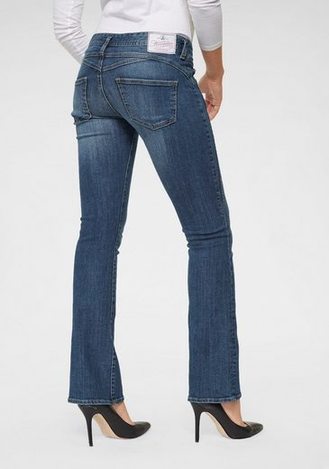 Herrlicher Bootcut-Jeans »GINA BOOT« Superstretch Low Waist