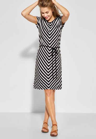 5488d18d71212 STREET ONE Jerseykleid im angesagten Streifen-Design