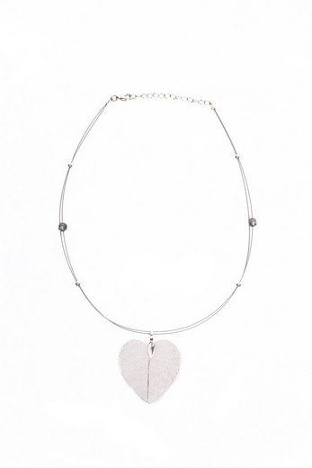 Allgäu Rebell Collier »Calla«, mit zwei kleinen Swarovski® Perlen