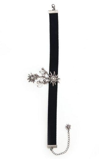 Allgäu Rebell Halsband »Erin«, mit Glassteinen