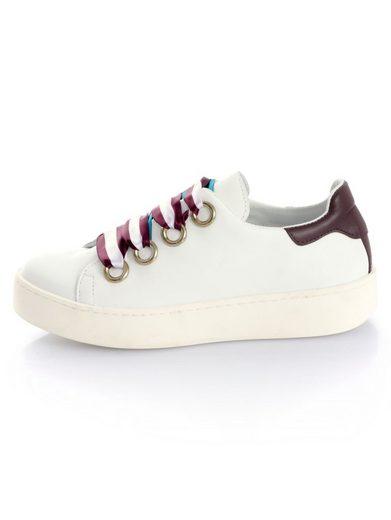 Alba Moda Sneaker mit breiten Schnürsenkeln