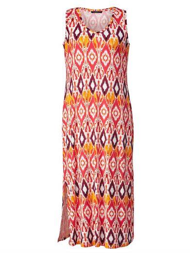 Sara Lindholm by Happy Size Maxikleid mit Allover-Print
