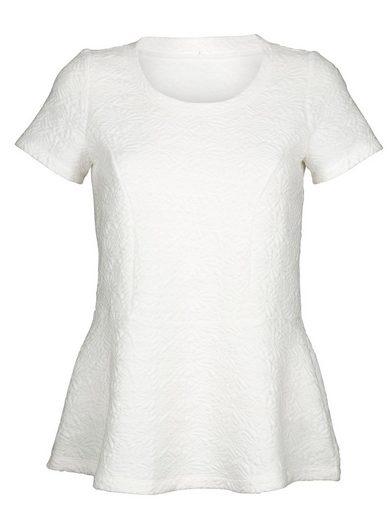 Alba Moda Shirt in allover strukturierter Ware