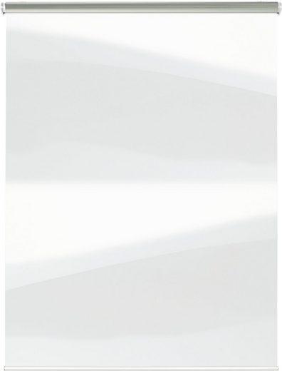 Seitenzugrollo »Hygienerollo«, GARDINIA, transparent, freihängend, Schutz vor Tröpfcheninfektionen