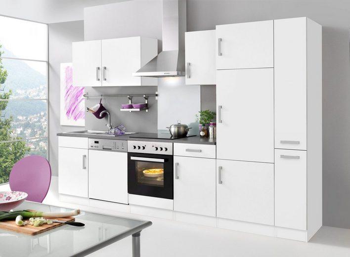 HELD MÖBEL Küchenzeile mit E-Geräten »Toronto«, Breite 310 cm