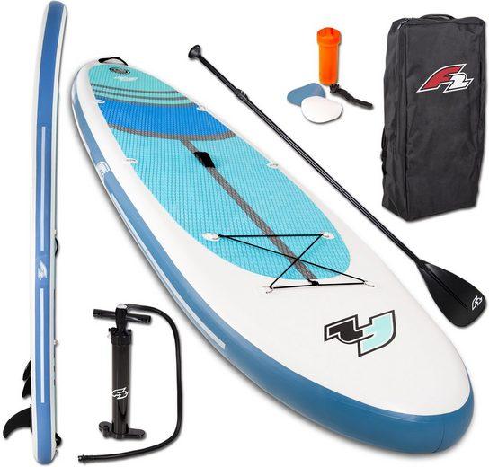 F2 Inflatable SUP-Board »F2 Cross«, (Set, 5 tlg)