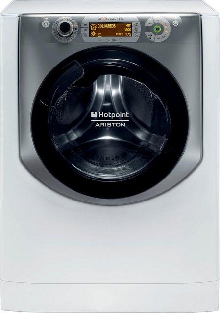 Hotpoint Waschtrockner AQD1071D 69 EU/A, 10 kg/7 kg, 1600 U/Min