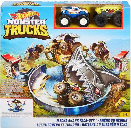 Hot Wheels Spiel-Gebäude »Mattel Spielset, »Hot Wheels Monster Trucks Hai-Arena««