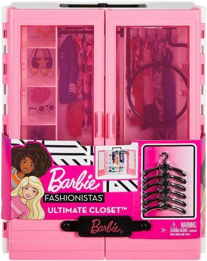 Barbie Puppenkleiderschrank »Fashionistas Traum-Kleiderschrank«