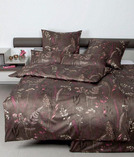 Bettwäsche »CARMEN 53100«, Janine, mit floralem Muster