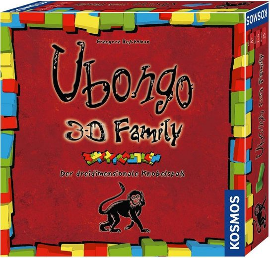 Kosmos Spiel, »Ubongo 3-D Family«, Made in Germany