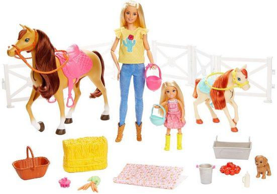 Mattel® Anziehpuppe »Barbie Reitspaß mit Puppe«