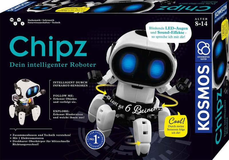 Kosmos Experimentierkasten »Chipz - Dein intelligenter Roboter«
