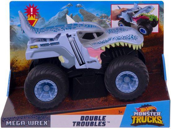 Hot Wheels Spielzeug-Monstertruck »Hot Wheels Monster Trucks 1:24 Mega-Wrex Double Troubles«