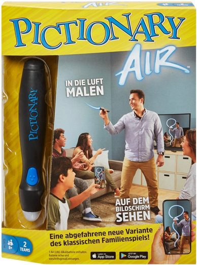 Mattel games Spiel, »Gesellschaftsspiel - Pictionary Air«