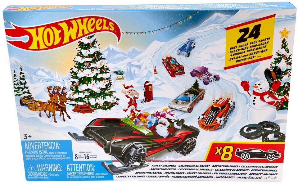 Lego Weihnachtskalender 2019.Hot Wheels Adventskalender Hot Wheels 2019 Otto
