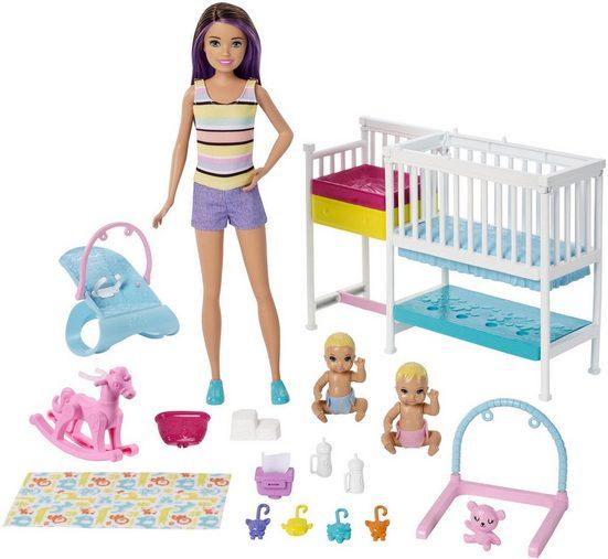 Mattel® Anziehpuppe »Barbie Skipper Babysitters Kinderzimmer-Spielset«, inklusive Puppen