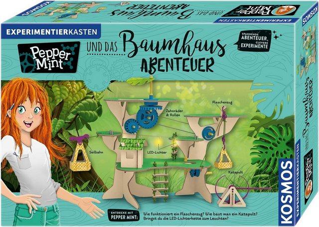 Image of Kosmos Experimentierkasten Pepper Mint und das Baumhaus-Abenteuer