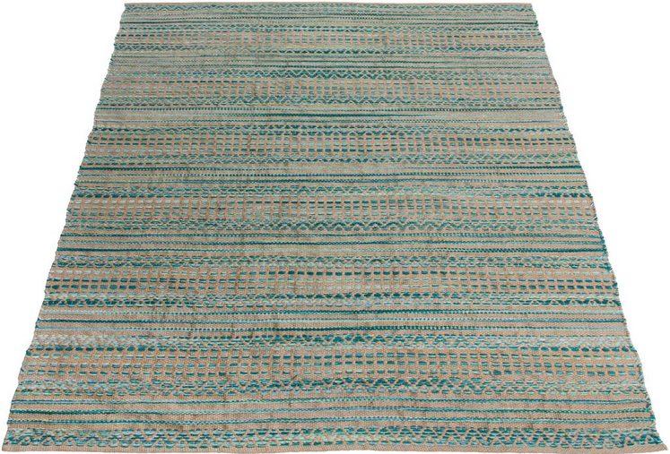 Teppich »Marius«, OTTO products, rechteckig, Höhe 14 mm, in moderner Flecht-Optik