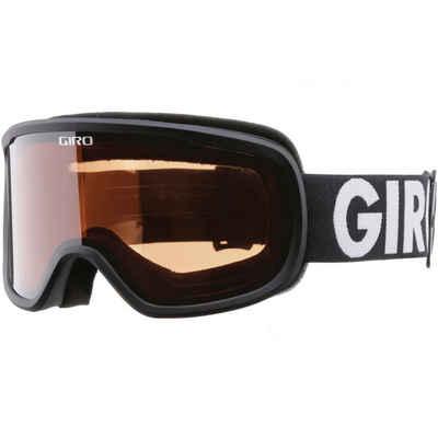 Giro Skibrille »BOREAL;AMBER ROSE«, rutschsicherer Sitz,weites Blickfeld