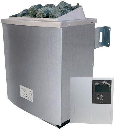 KARIBU Saunaofen »4,5 kW«, inkl. ext. Steuerung »Classic« und 18 kg Saunasteine