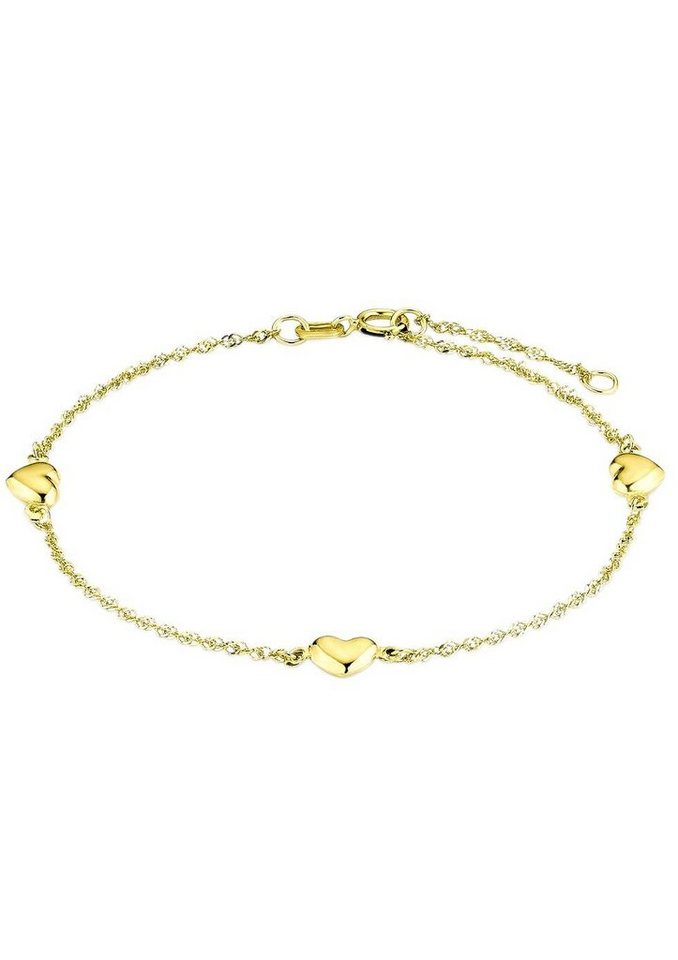 Amor Armkette »Herzen, 2017354« | Schmuck > Armbänder > Armketten | Goldfarben | Amor