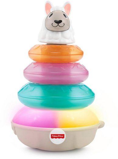 Fisher-Price® Stapelspielzeug »BlinkiLinkis Lama«, mit Licht und Sound