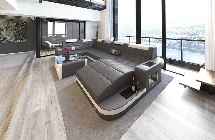 Sofa Dreams Wohnlandschaft »Wave«, U Form