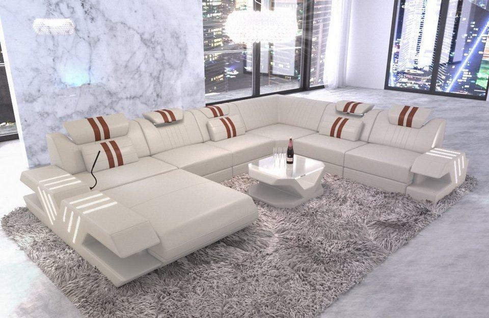 Sofa Dreams Wohnlandschaft »Venedig«, U Form XXL   OTTO