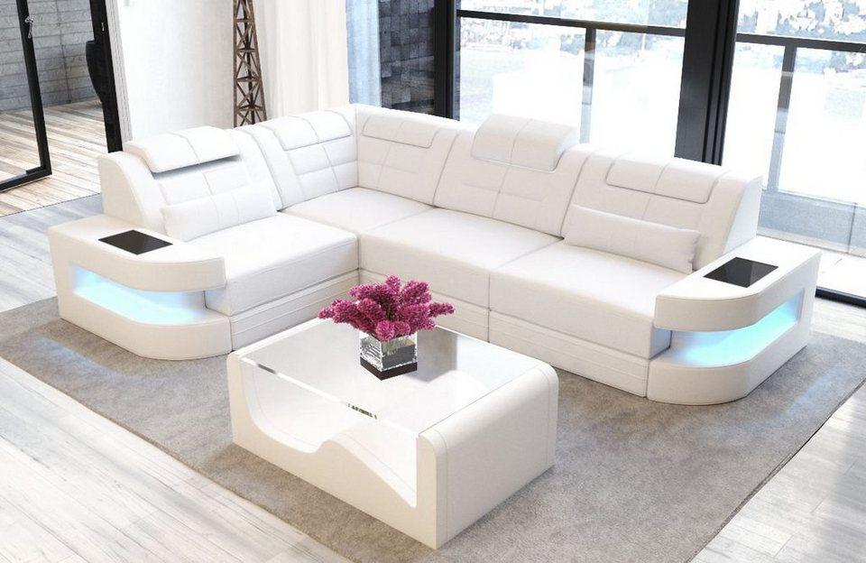 Sofa Dreams Ecksofa »Como«, L Form, Modernes Design