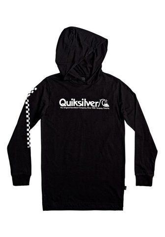 QUIKSILVER Marškinėliai su gobtuvu »Checkers Mate...