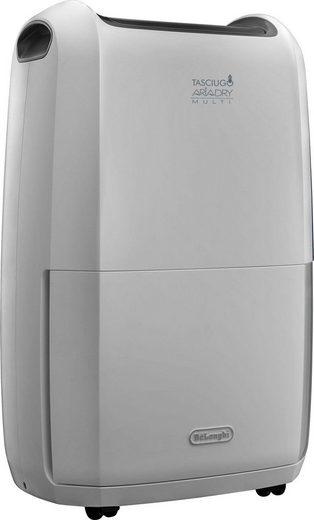 De'Longhi Luftentfeuchter DDSX225, für 100 m³ Räume, Entfeuchtung 25 l/Tag, Tank 5 l