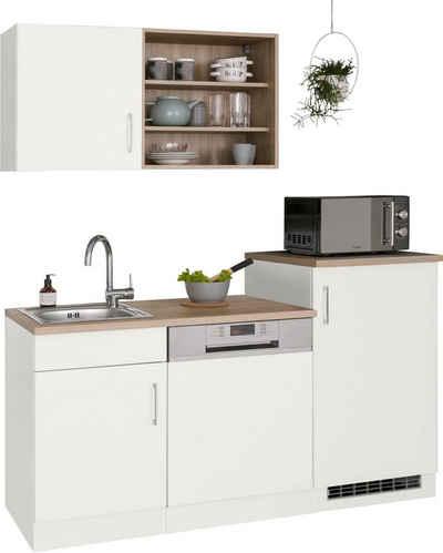 HELD MÖBEL Küchenzeile »Mali«, mit E-Geräten, Breite 170 cm