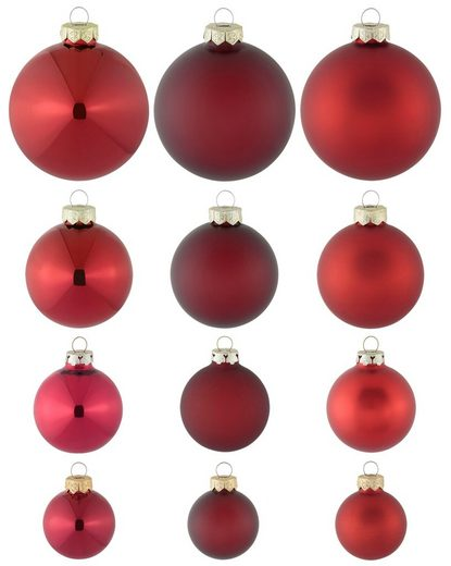 Thüringer Glasdesign Weihnachtsbaumkugel »Advent« (100 Stück)