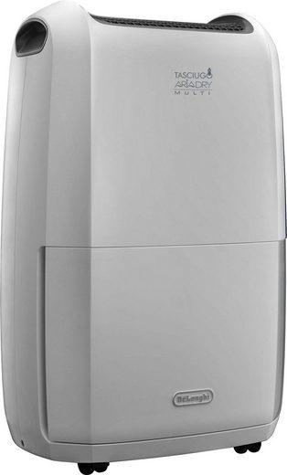 De'Longhi Luftentfeuchter DDSX220, für 90 m³ Räume, Entfeuchtung 20 l/Tag, Tank 5 l