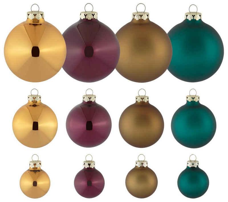 Thüringer Glasdesign Weihnachtsbaumkugel »Christmas Chic« (40 Stück)