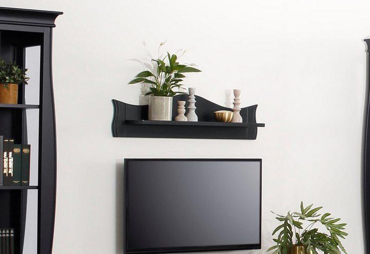 Home affaire Wandboard »Kristine«, aus massivem Linden- und Buchenholz, mit einer pflegeleichten Oberfläche, Breite 100 cm