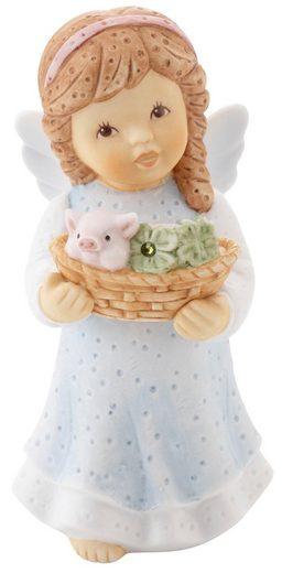 Goebel Engelfigur »Viel Glück von Herzen«, mit Glitzerstein