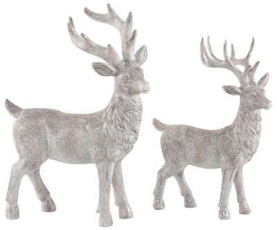Home affaire Tierfigur »Hirsche« (2 Stück), stehend