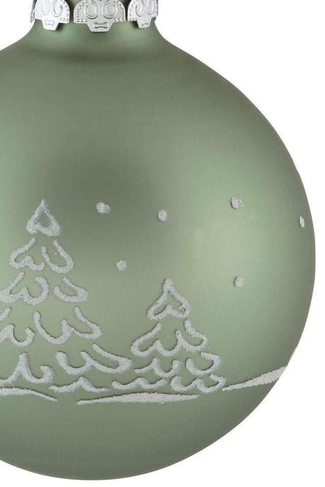 Otto Christbaumkugeln.Thüringer Glasdesign Weihnachtsbaumkugel Christmas Hygge 30 Stück Online Kaufen Otto