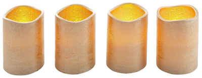 LED-Kerze (Set, 4-tlg)