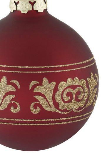Thüringer Glasdesign Weihnachtsbaumkugel »Opulent« (30 Stück)