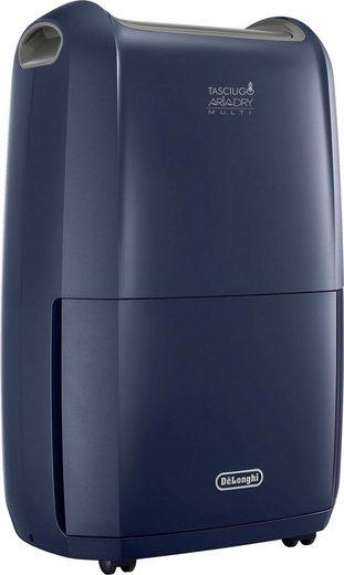 De'Longhi Luftentfeuchter DDSX220WF, für 90 m³ Räume, Entfeuchtung 21 l/Tag, Tank 5 l