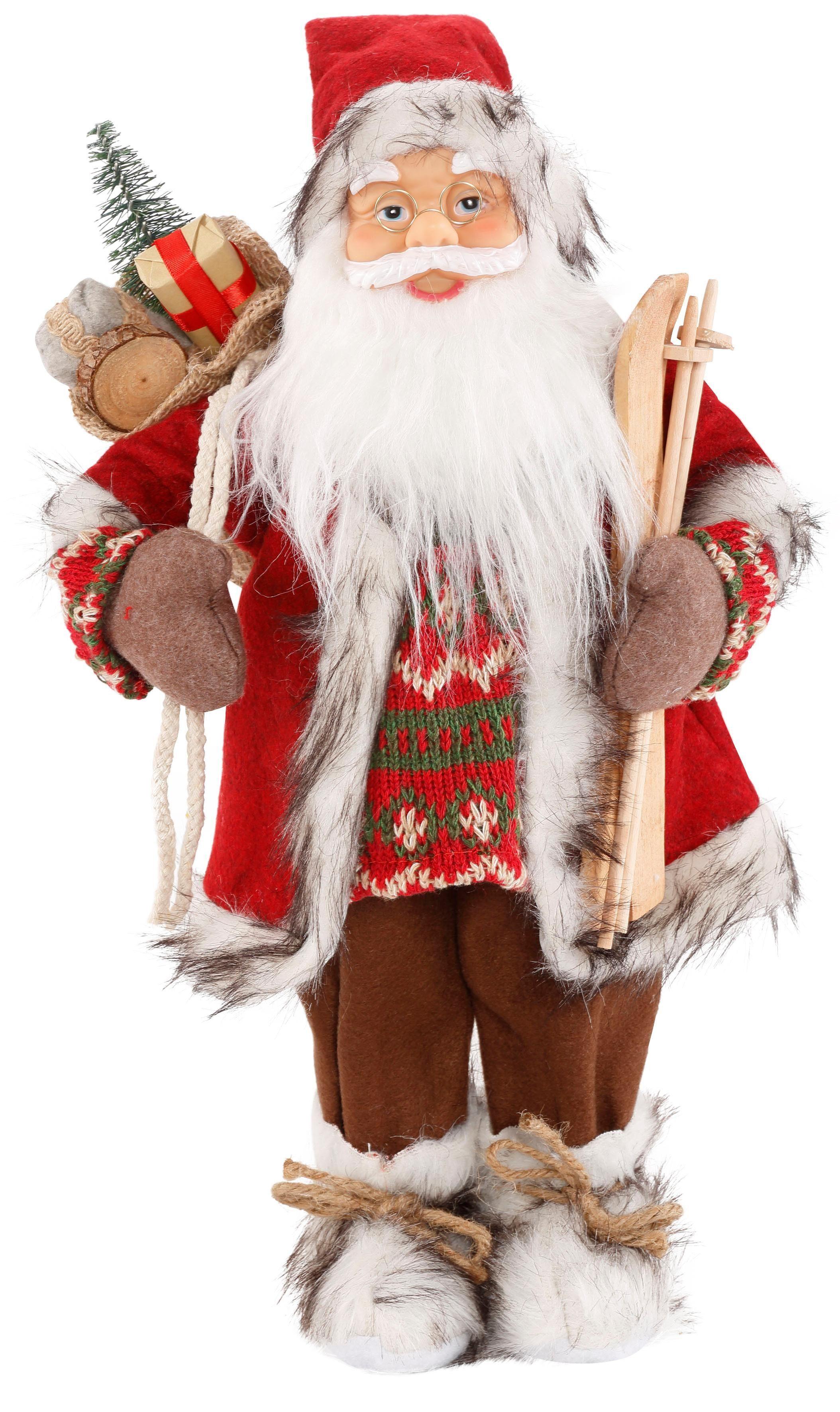 Weihnachtsmann aus Polyresin 45 cm