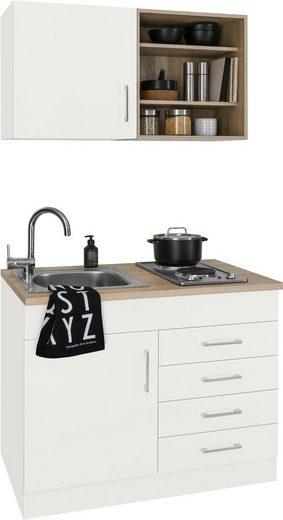 HELD MÖBEL Küchenzeile »Mali«, mit E-Geräten, Breite 100 cm