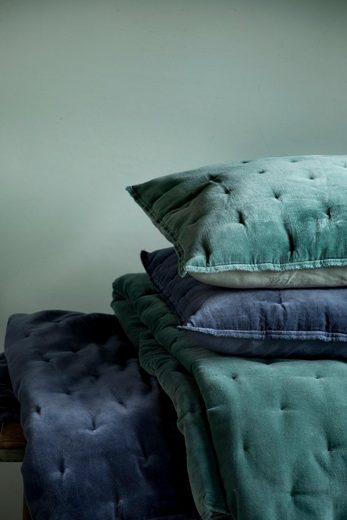 dekokissen velvet touch walra mit gewebten punkten. Black Bedroom Furniture Sets. Home Design Ideas