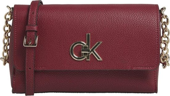 Calvin Klein Umhängetasche »RE-LOCK FLAP XBODY«, mit goldfarbenen Details